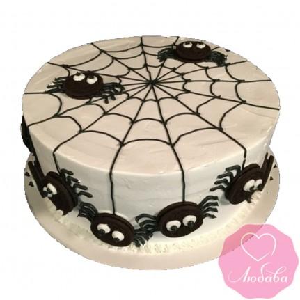Торт детский паучки №2560