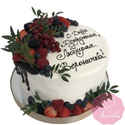 Торт детский ягодный №2594