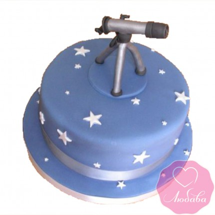 Торт детский с телескопом №2598