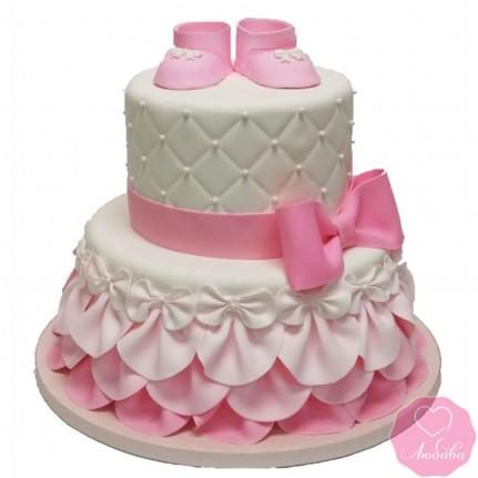 Торт детский девочке №2657