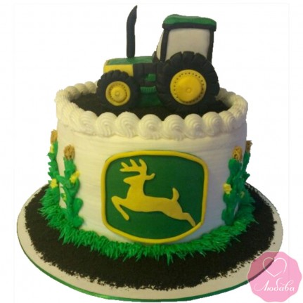Торт детский с трактором №2660