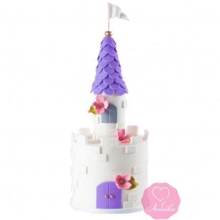 Торт детский замок №2699