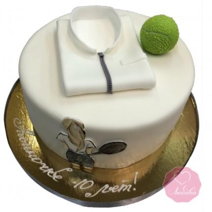 Торт детский теннис №2710