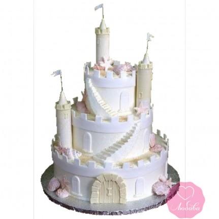 Торт детский замок №2729