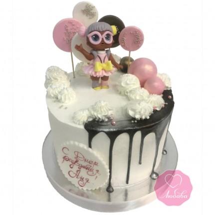 Торт детский с куклой №2731
