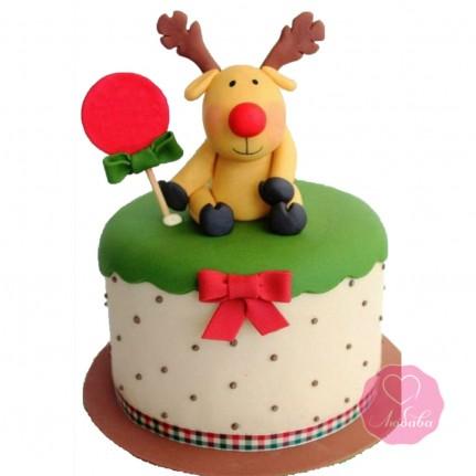 Торт детский лосенок №2756