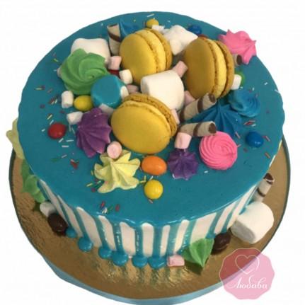 Торт со сладостями №2780