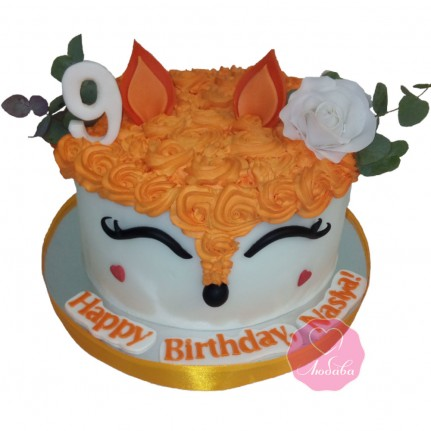 Торт лиса №2790