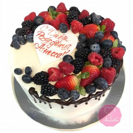 Торт на день рождения девочке №2793