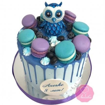 Торт с совой №2814