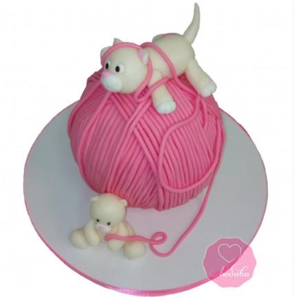 Торт с котом №2823