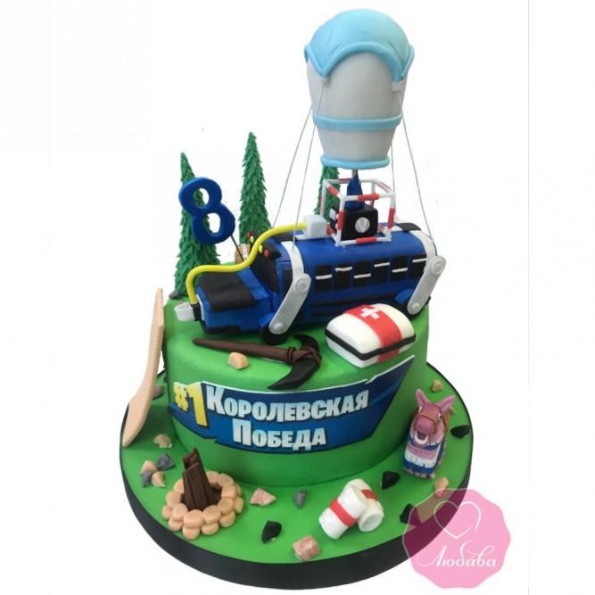 Торт на день рождения мальчику №2827