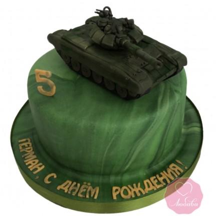 Торт с танком №2837