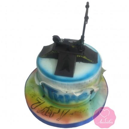 Торт трюковый самокат №2864
