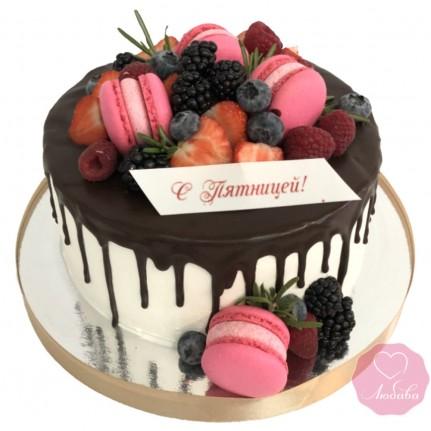 Торт корпоративный со сладостями №2704