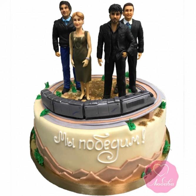 Торт с героями книги №2784