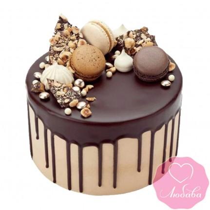 Торт без мастики со сладостями №2542