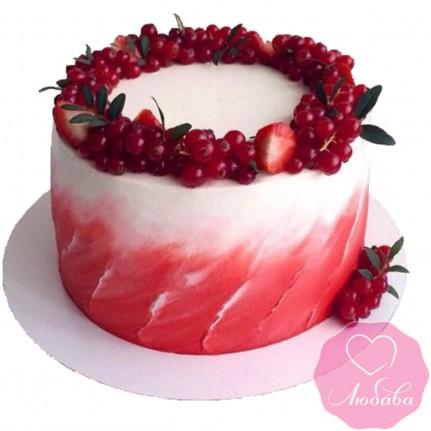 Торт диабетический с ягодами №2591