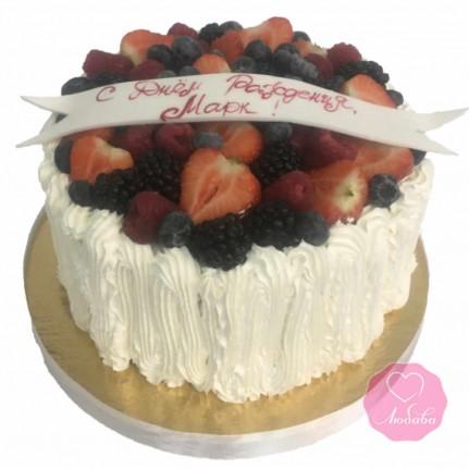 Торт диабетический ягодный №2691