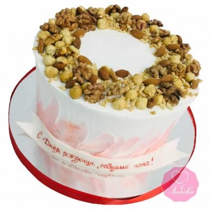 Торт диабетический с орехами №2726