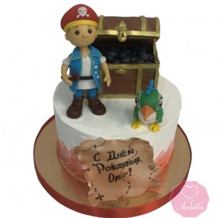 Торт диабетический пират №2727