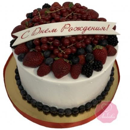 Торт безглютеновый на день рождения №2761