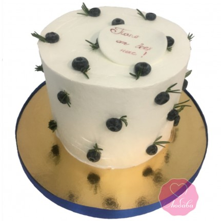 Торт диабетический с голубикой №2766