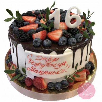 Торт девушке на день рождения №2812
