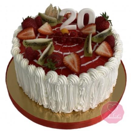 Торт девушке на 20 лет №2820