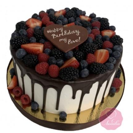 Торт Happy Birthday №2826