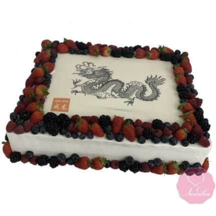 Торт с драконом №2868