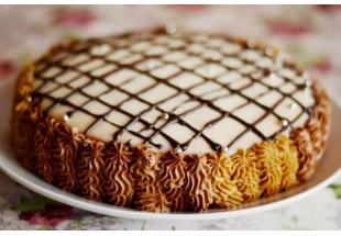 Торт сметанник. Пошаговый рецепт для домашнего приготовления